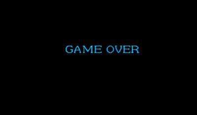 Captain Commando - Screenshot - Game Over
