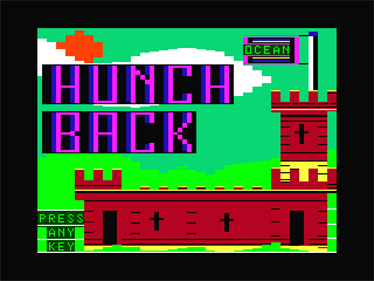 Hunchback - Screenshot - Game Title