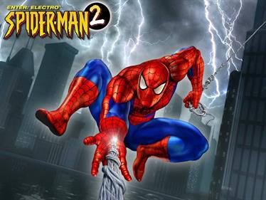 Spider-Man 2: Enter Electro - Fanart - Background