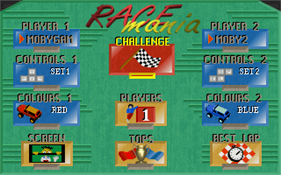 Race Mania - Screenshot - Game Title