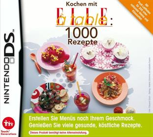 1000 Cooking Recipes from Elle a Table
