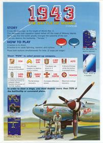 1943: The Battle of Midway - Advertisement Flyer - Back
