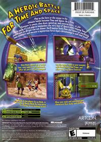 Blinx 2: Masters of Time and Space - Box - Back