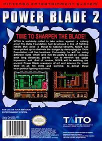 Power Blade 2 - Box - Back