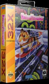 Virtua Hamster - Box - 3D