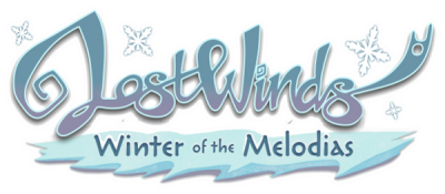 LostWinds: Winter of the Melodias - Clear Logo