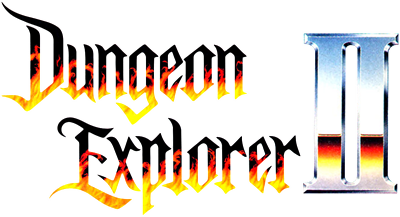 Dungeon Explorer II - Clear Logo