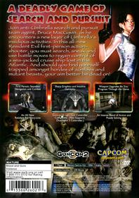 Resident Evil: Dead Aim - Box - Back