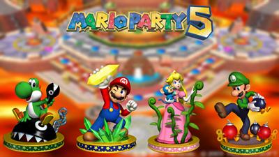 Mario Party 5 - Fanart - Background
