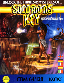 Solomon's Key - Box - Front