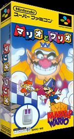 Mario To Wario: Mario & Wario - Box - 3D