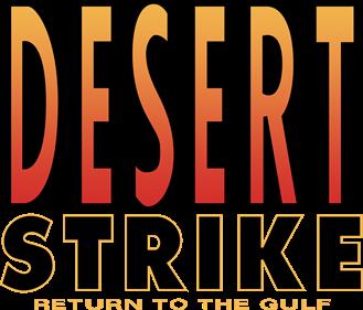 Desert Strike: Return to the Gulf - Clear Logo