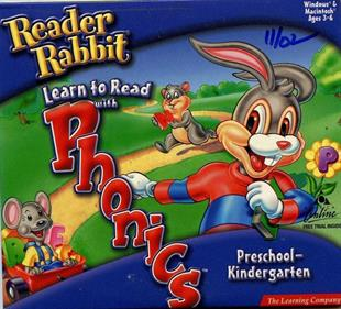 Reader Rabbit's Learn to Read with Phonics: Preschool & Kindergarten