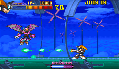 Mega Man 2: The Power Fighters - Screenshot - Gameplay