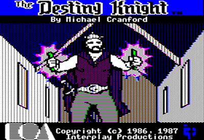 The Bard's Tale II: The Destiny Knight - Screenshot - Game Title