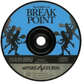 Break Point Tennis - Disc