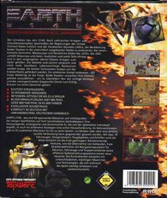 Earth 2140 - Box - Back