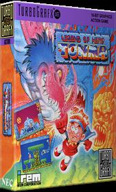 Legend of Hero Tonma - Box - 3D