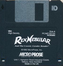 Rex Nebular and the Cosmic Gender Bender - Disc