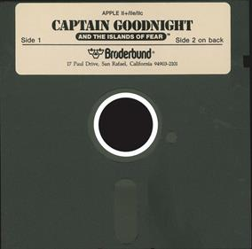 Captain Goodnight and the Islands of Fear - Disc