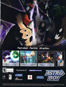 Astro Boy - Advertisement Flyer - Front