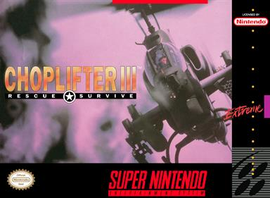 Choplifter III: Rescue-Survive
