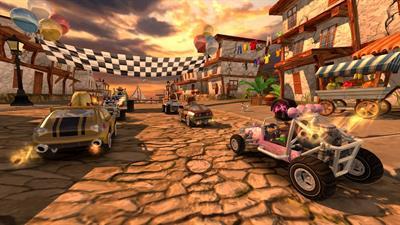 Beach Buggy Racing - Screenshot - Gameplay