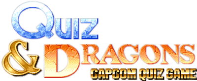 Quiz & Dragons: Capcom Quiz Game - Clear Logo