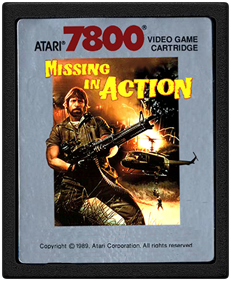 Missing in Action - Cart - Front