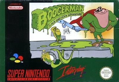 Boogerman: A Pick and Flick Adventure - Box - Front