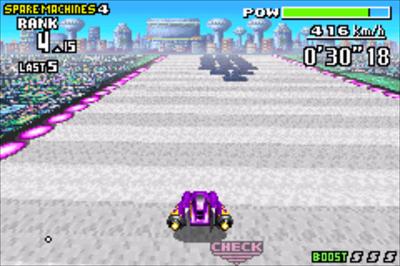 F-Zero: Maximum Velocity - Screenshot - Gameplay