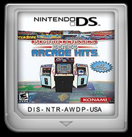 Konami Classics Series: Arcade Hits - Fanart - Cart - Front