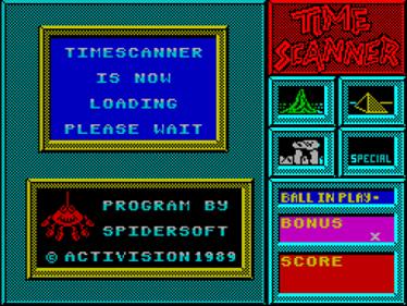 Time Scanner - Screenshot - Game Title
