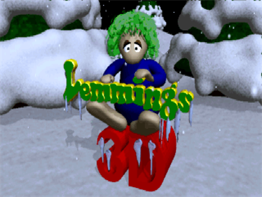 3D Lemmings Winterland - Screenshot - Game Title