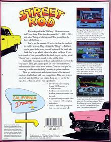 Street Rod - Box - Back