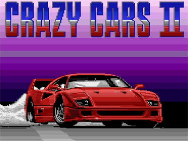 Crazy Cars II - Screenshot - Game Title