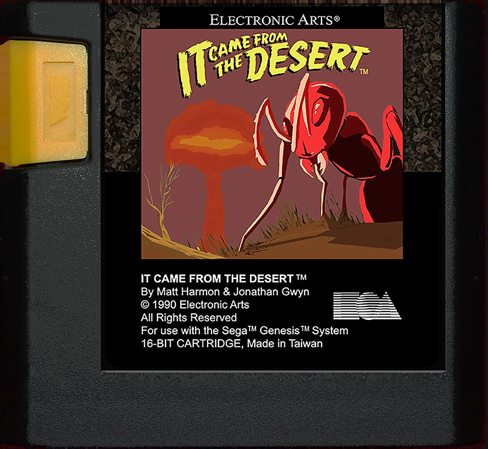 it came from the desert sega genesis