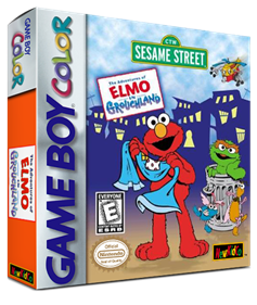 Sesame Street: The Adventures of Elmo in Grouchland - Box - 3D