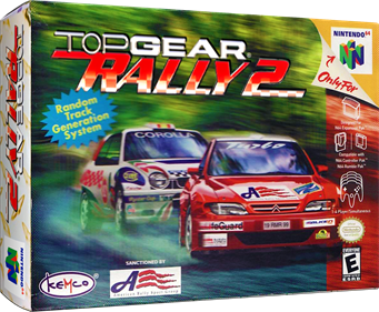 Top Gear Rally 2 - Box - 3D