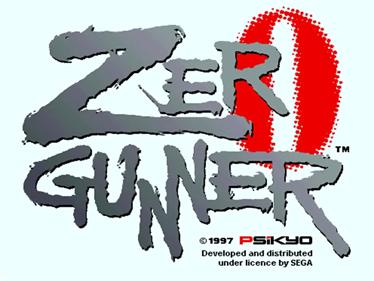 Zero Gunner - Screenshot - Game Title