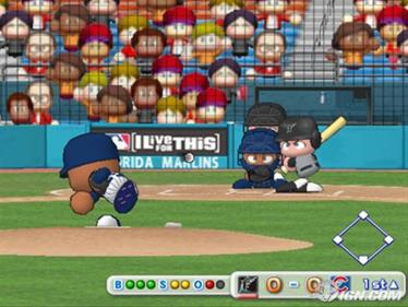 MLB Power Pros 2008 - Screenshot - Gameplay