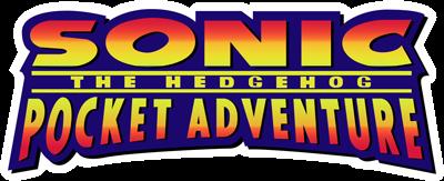 Sonic the Hedgehog Pocket Adventure - Clear Logo