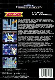 Captain Planet and the Planeteers - Box - Back