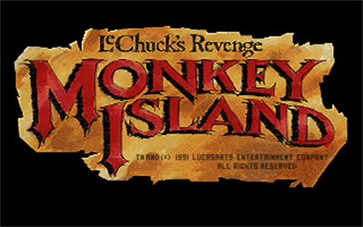 Monkey Island 2: LeChuck's Revenge - Screenshot - Game Title