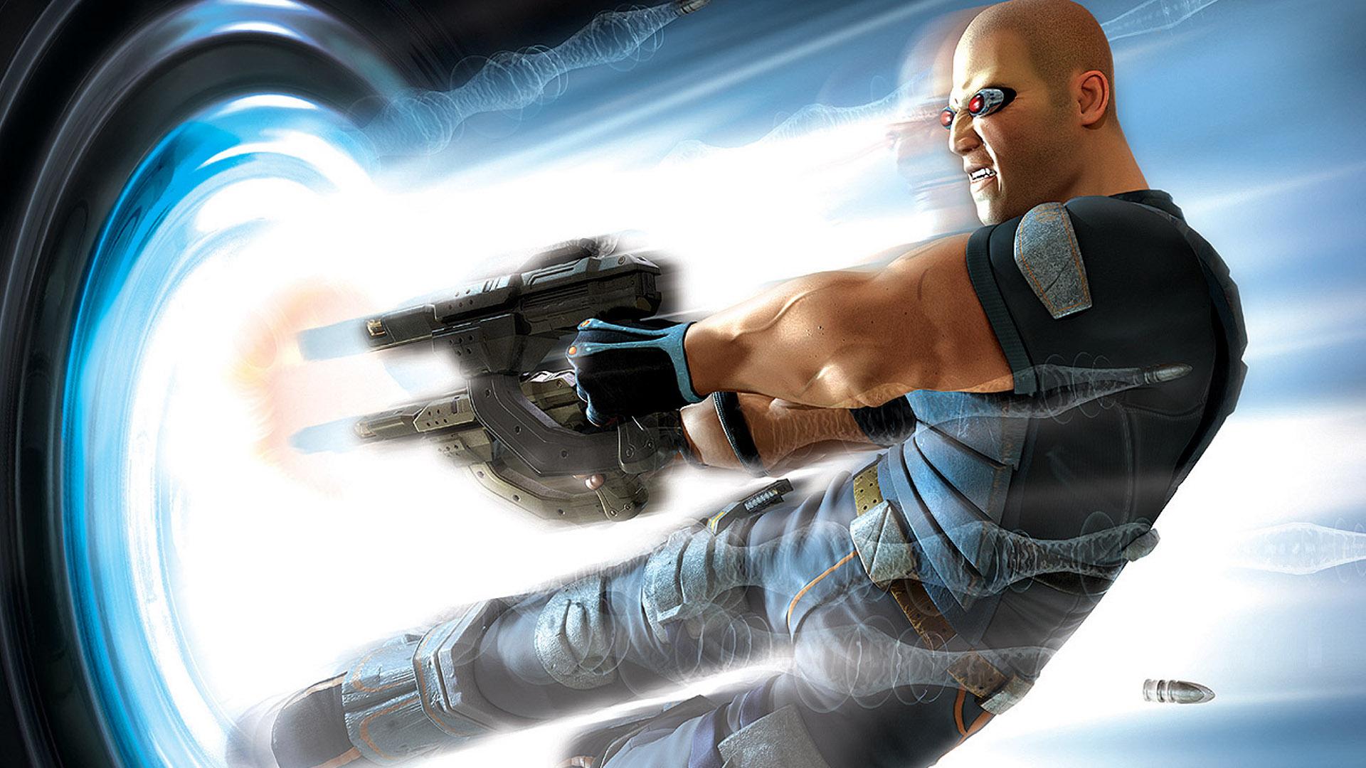 TimeSplitters: Future Perfect (2005) PlayStation 2 box