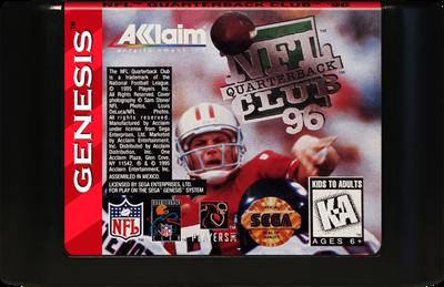 NFL Quarterback Club 96 - Cart - Front