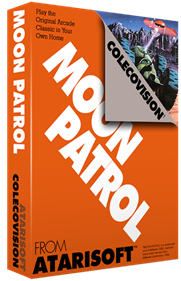 Moon Patrol - Box - 3D