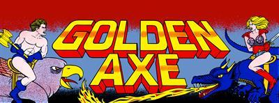 Golden Axe - Arcade - Marquee