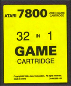 32 in 1 - Cart - Front