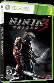 Ninja Gaiden 3 - Box - 3D